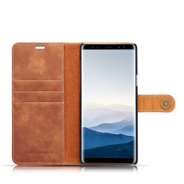 Magnet Wallet Galaxy Note 9 Cognac