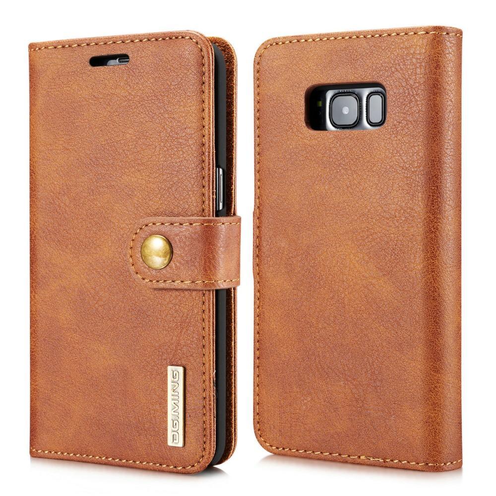 Magnet Wallet Galaxy S8 Plus Cognac