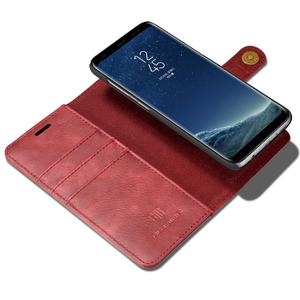 Magnet Wallet Galaxy S8 Red