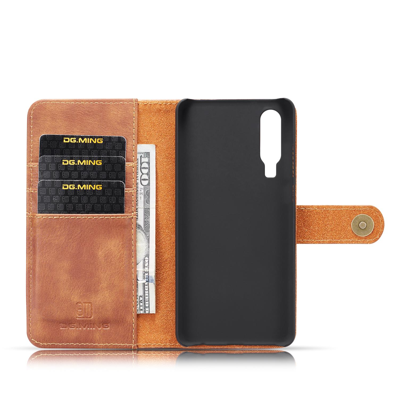 Magnet Wallet Huawei P30 Cognac