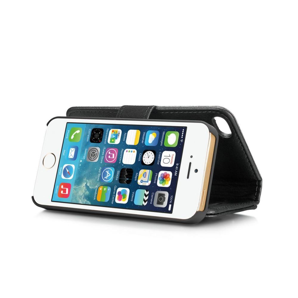 Magnet Wallet iPhone 5/5S/SE Black