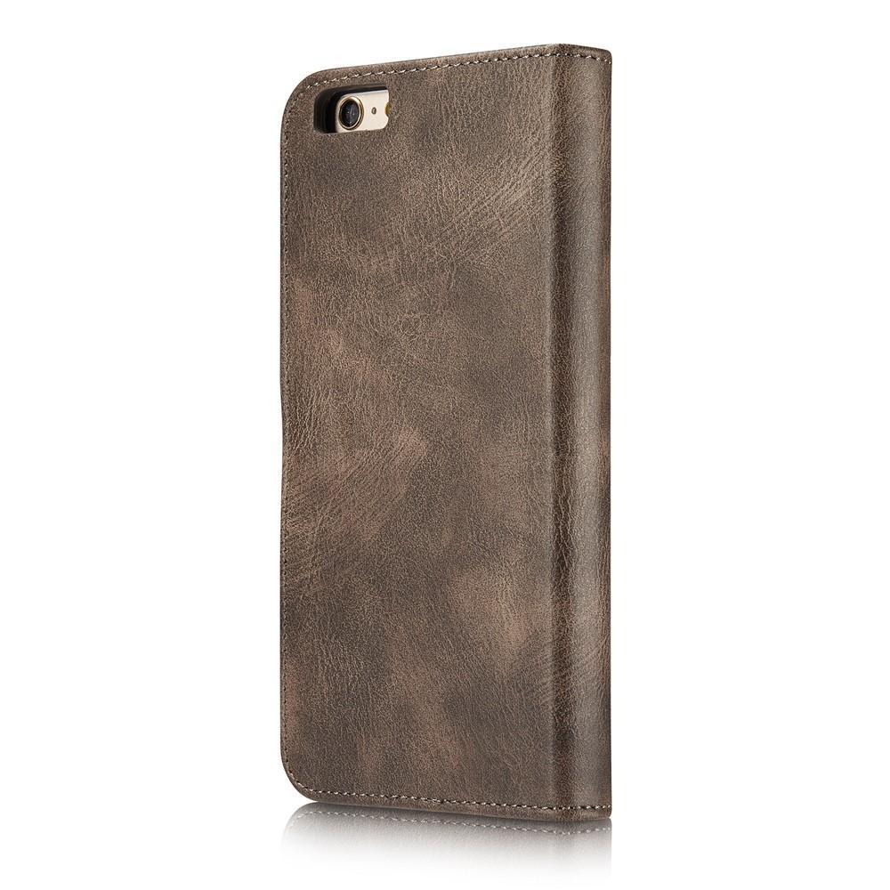Magnet Wallet iPhone 6/6S Brown