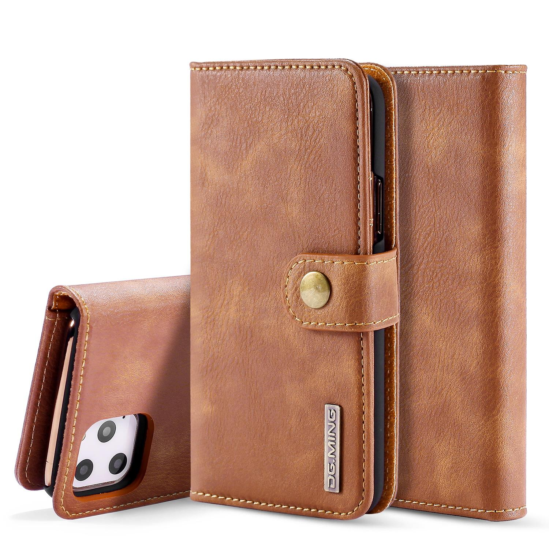 Magnet Wallet iPhone 11 Pro Cognac