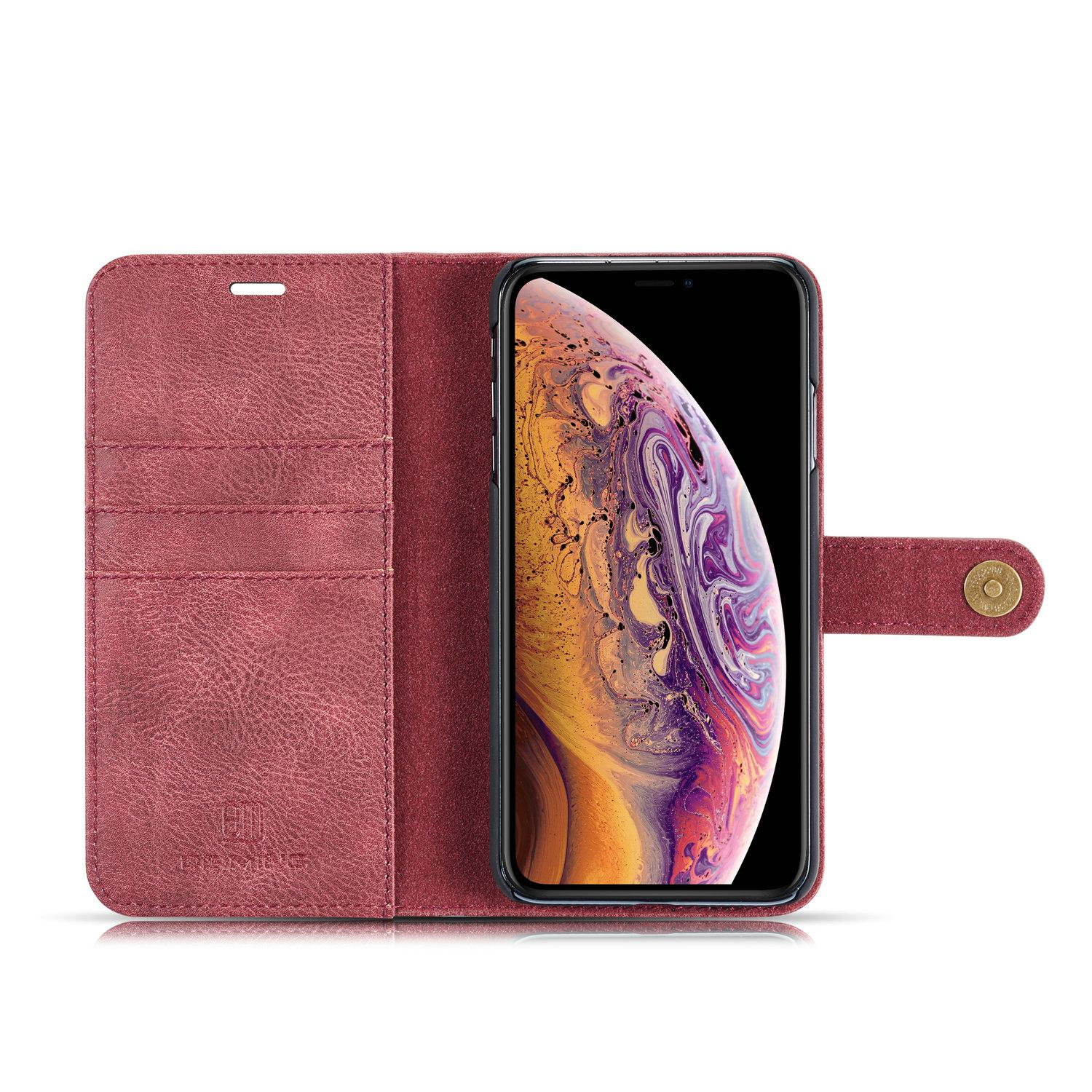 Magnet Wallet iPhone X/XS Red