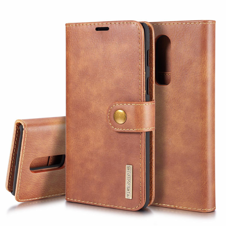 Magnet Wallet OnePlus 6 Cognac