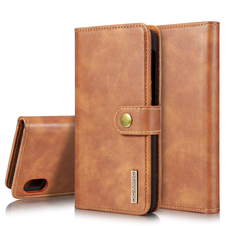 Magnet Wallet Samsung Galaxy A10 Cognac