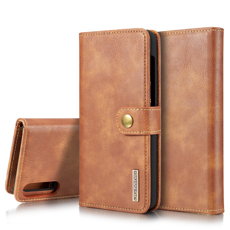 Magnet Wallet Samsung Galaxy A50 Cognac