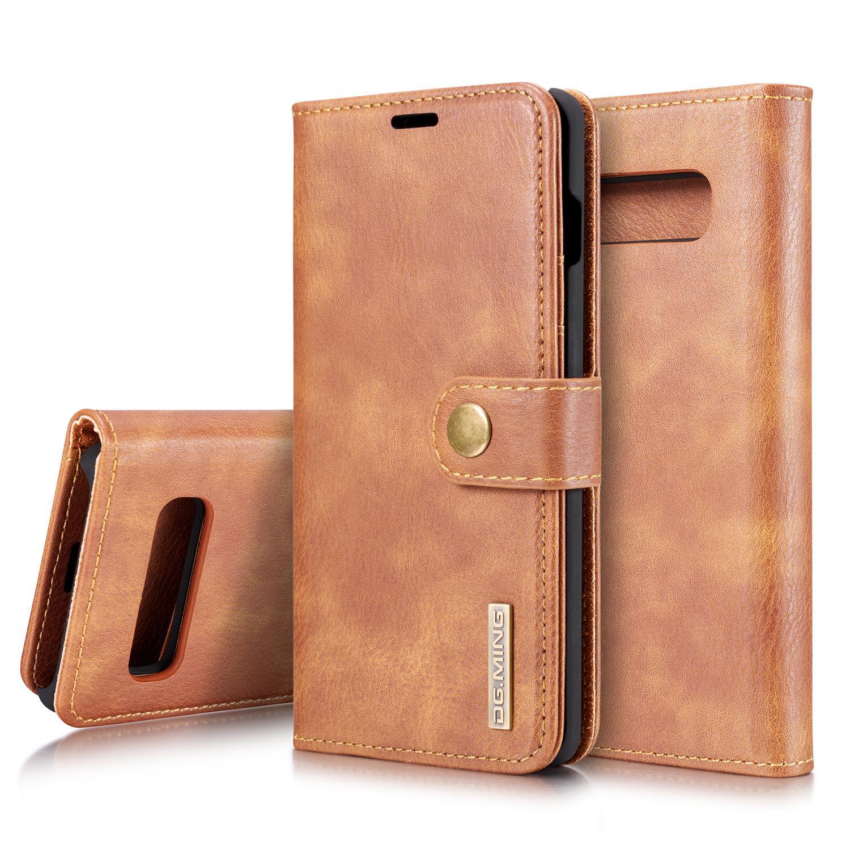 Magnet Wallet Samsung Galaxy S10 Cognac