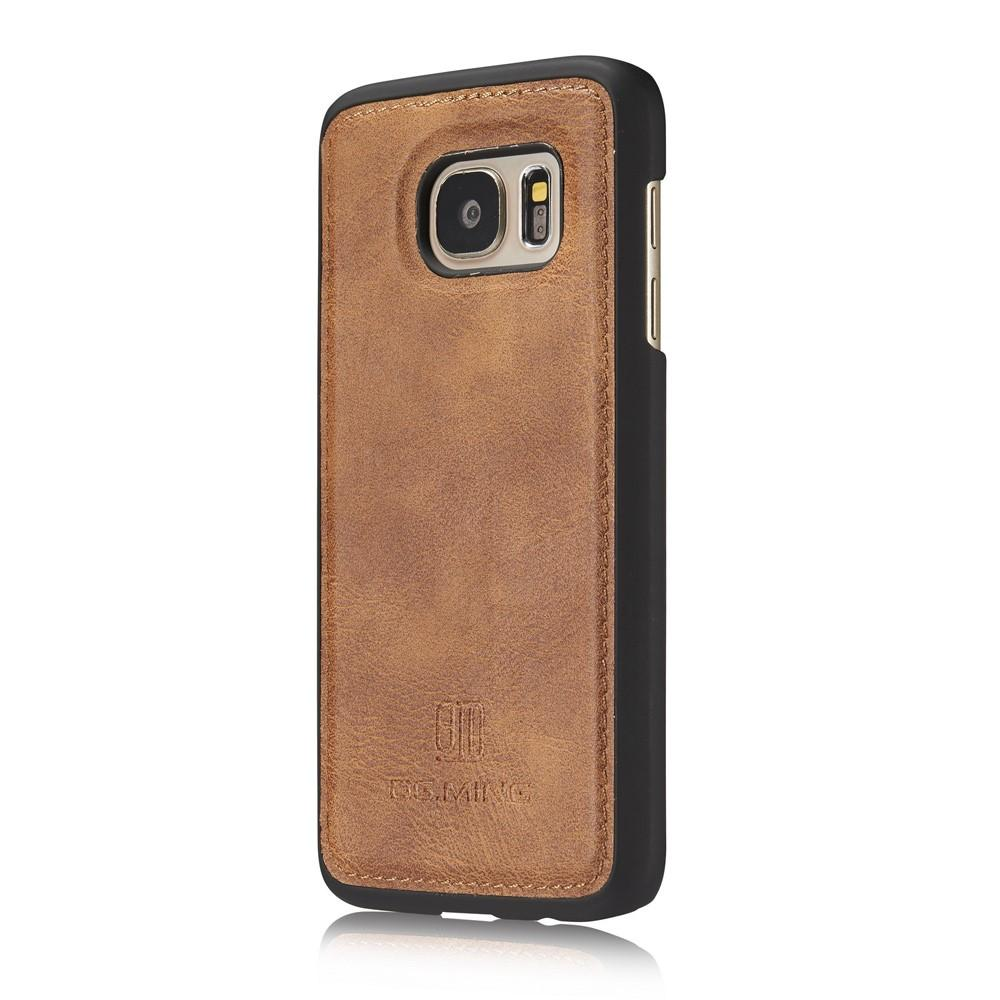 Magnet Wallet Samsung Galaxy S7 Cognac