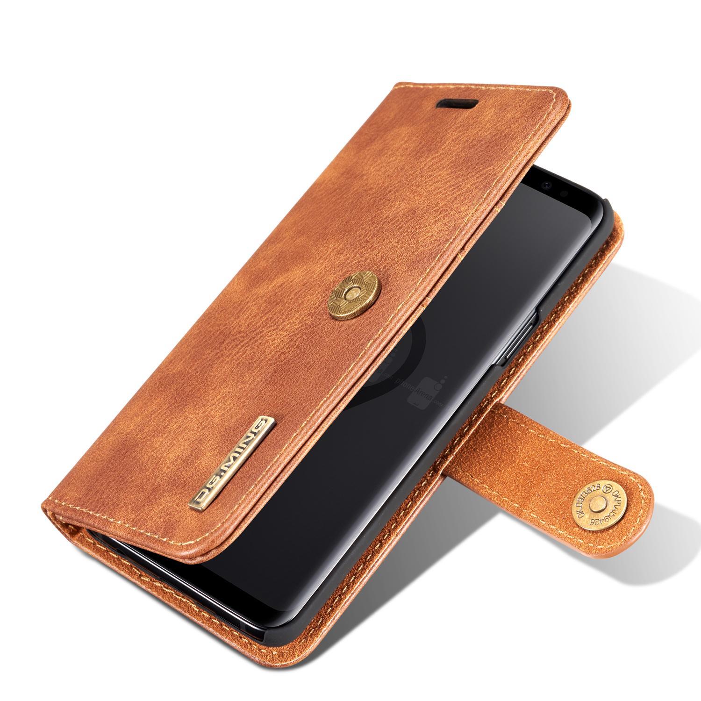 Magnet Wallet Samsung Galaxy S9 Cognac