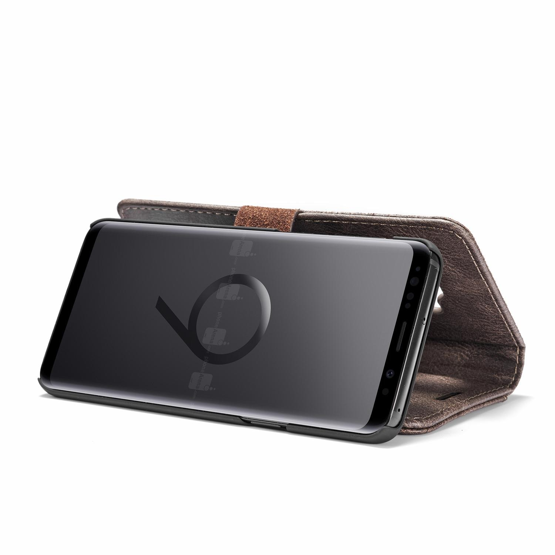 Magnet Wallet Samsung Galaxy S9 Plus Brown