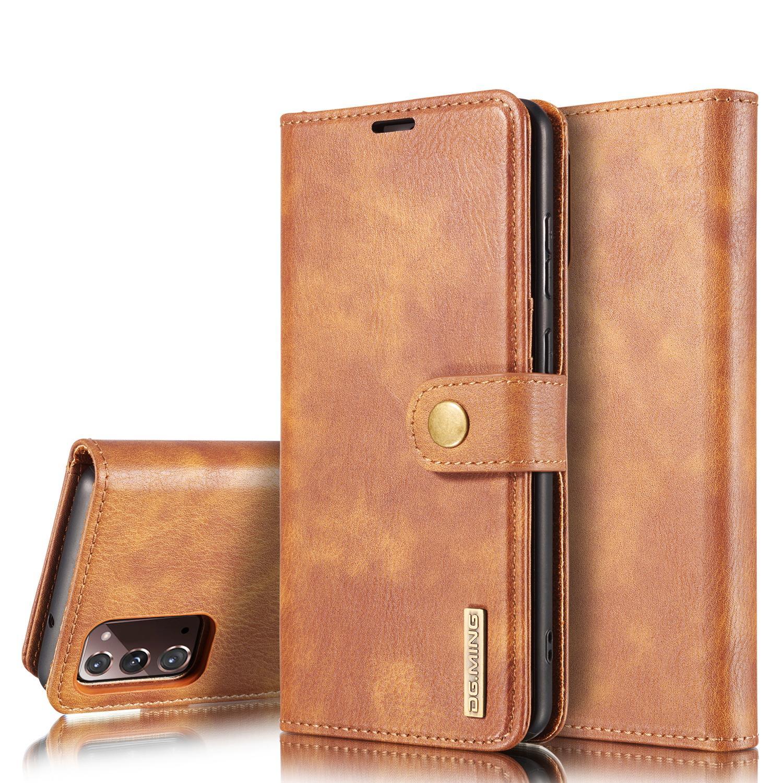 Magnet Wallet Galaxy Note 20 Cognac