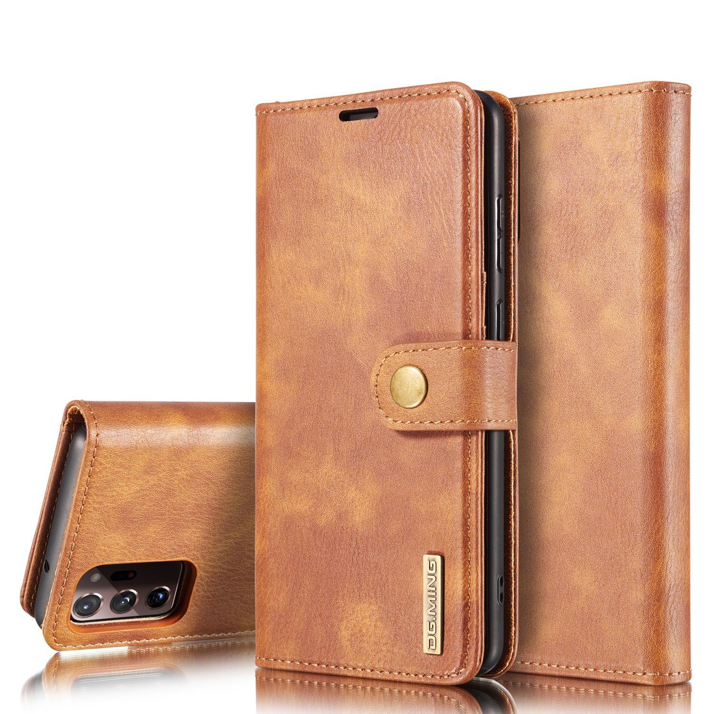 Magnet Wallet Galaxy Note 20 Ultra Cognac