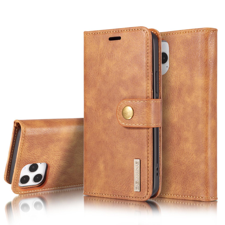Magnet Wallet iPhone 12/12 Pro Cognac
