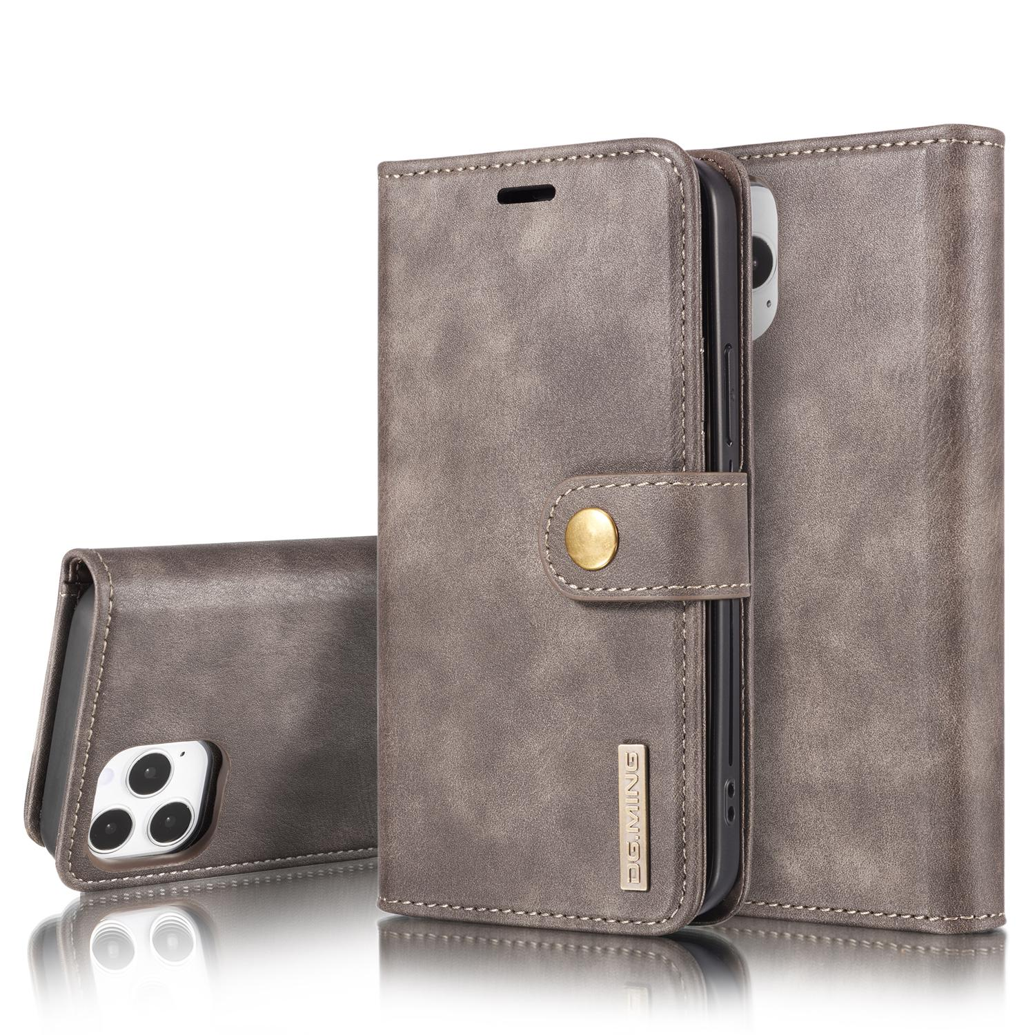 Magnet Wallet iPhone 12 Pro Max Brown