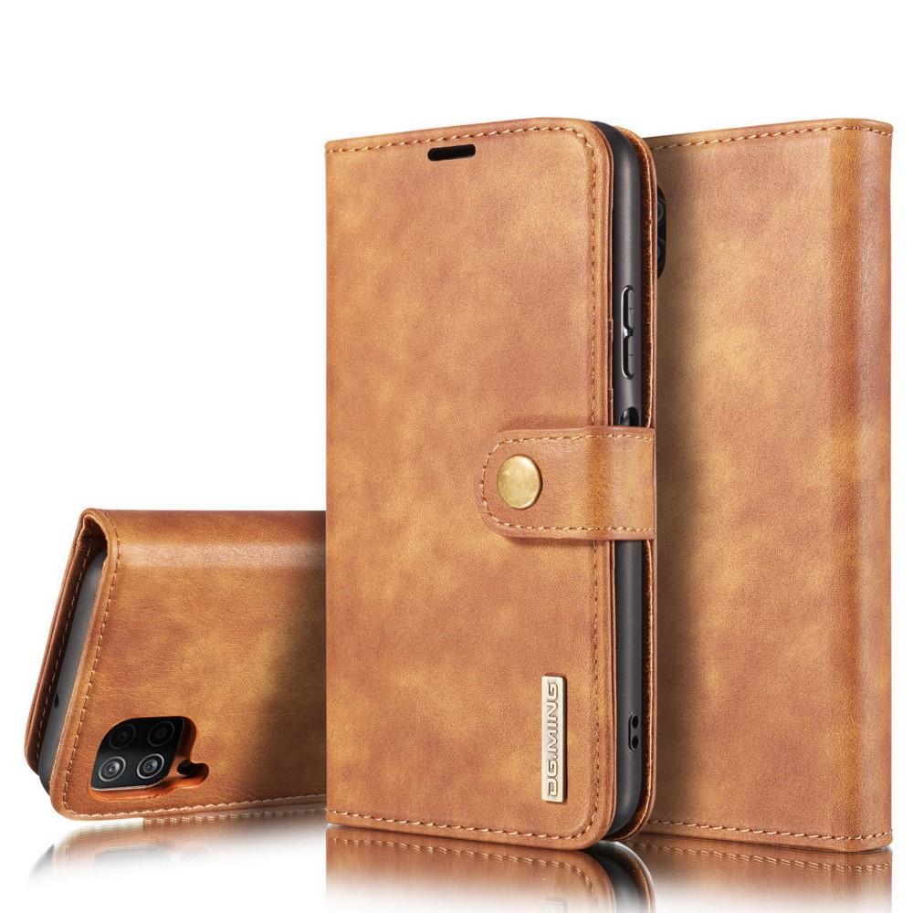 Magnet Wallet Samsung Galaxy A12 Cognac