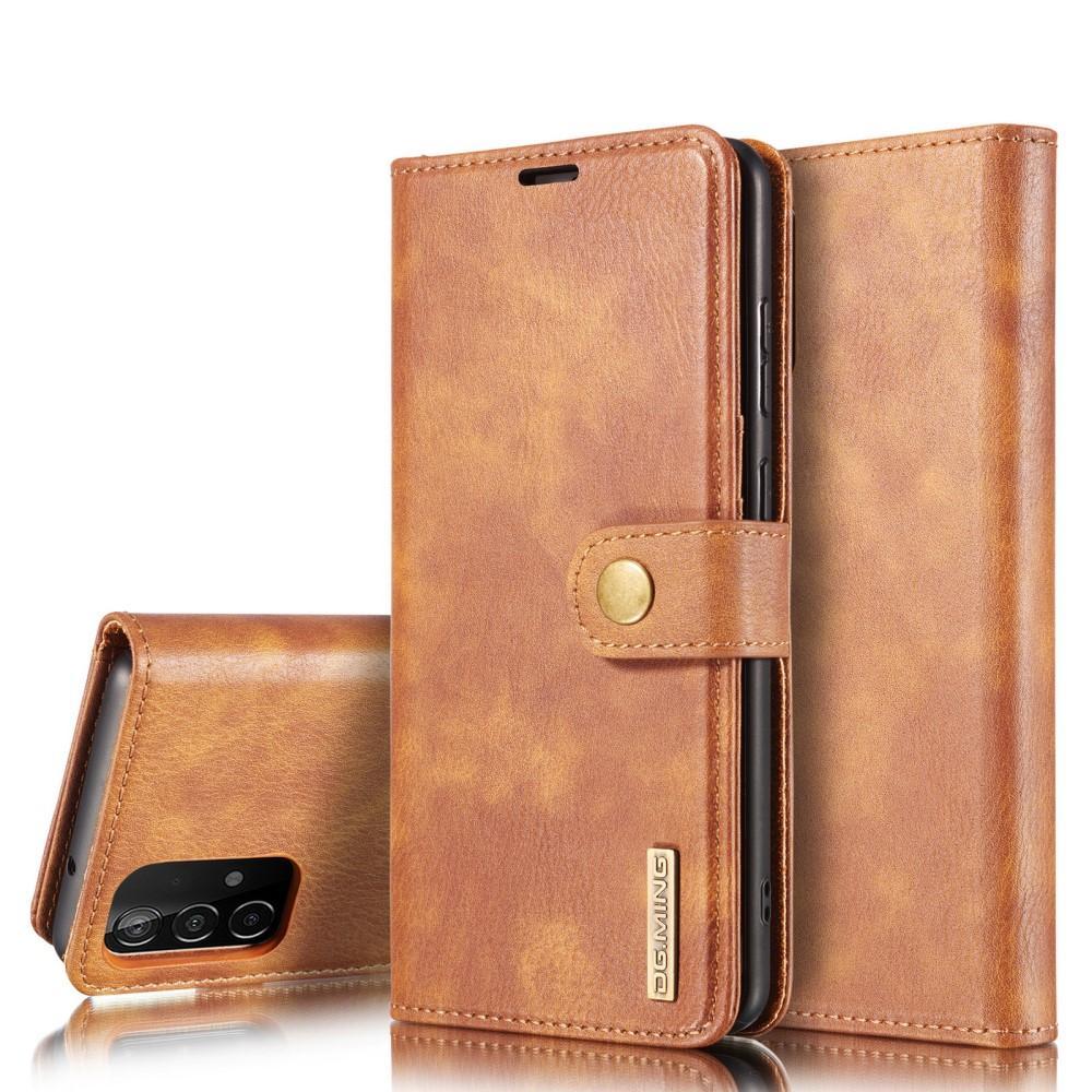 Magnet Wallet Samsung Galaxy A52 5G Cognac