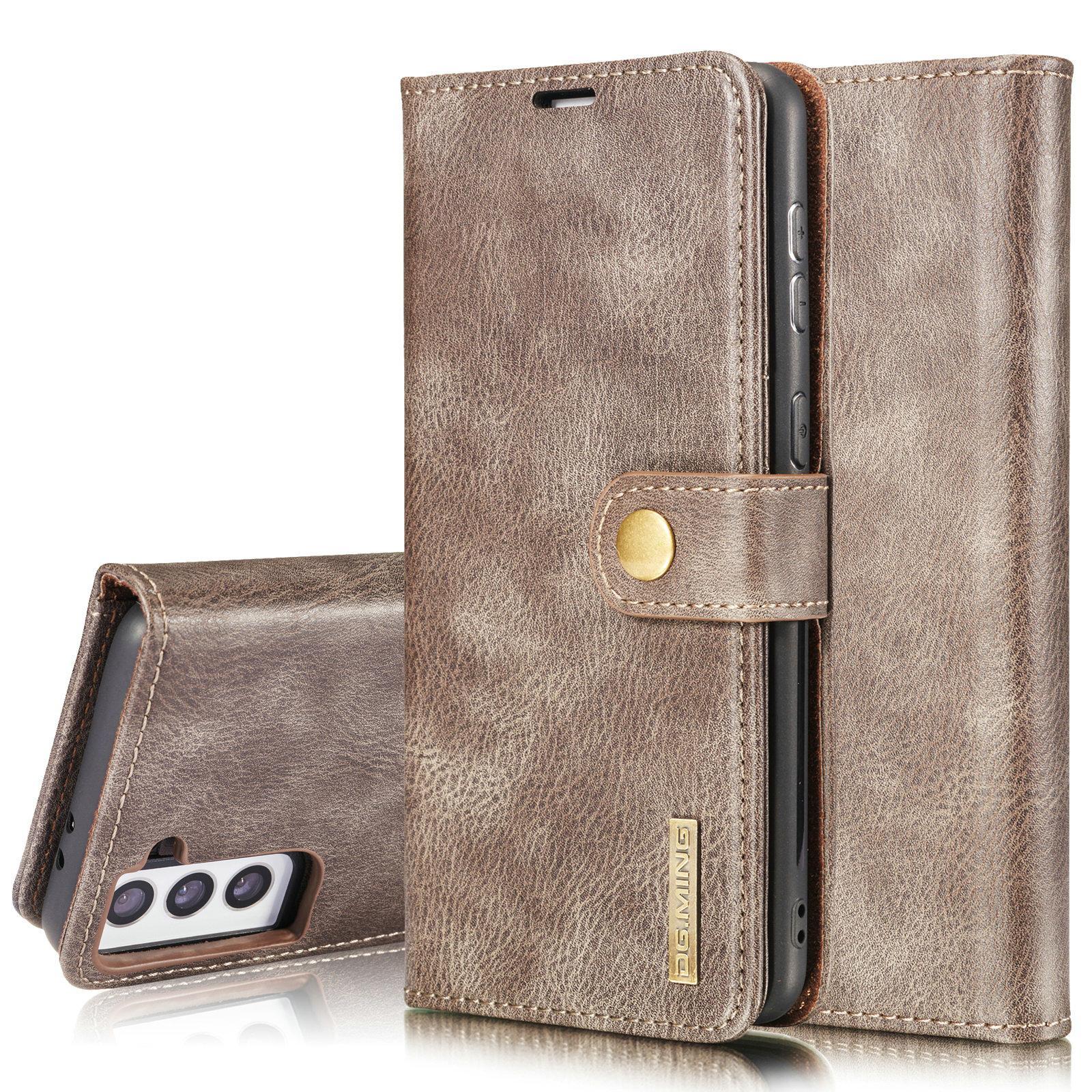 Magnet Wallet Samsung Galaxy S21 Plus Brown