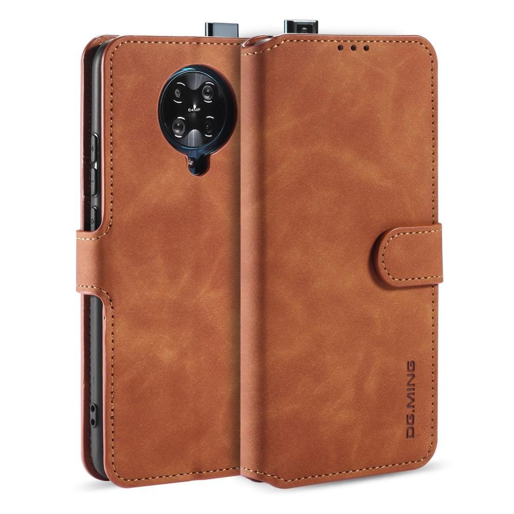 Wallet Case Poco F2 Pro Cognac