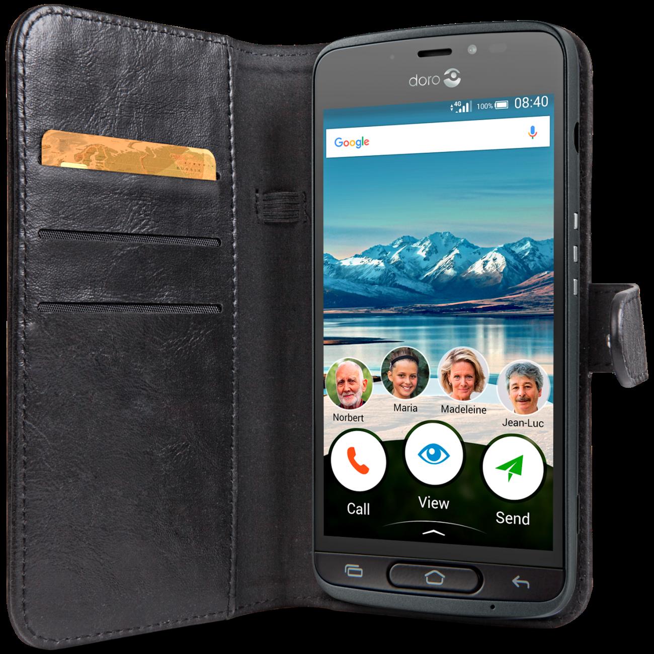 Wallet Case 8040 svart