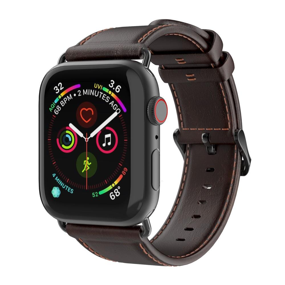 Leather Armband Apple Watch 42/44 mm Brown