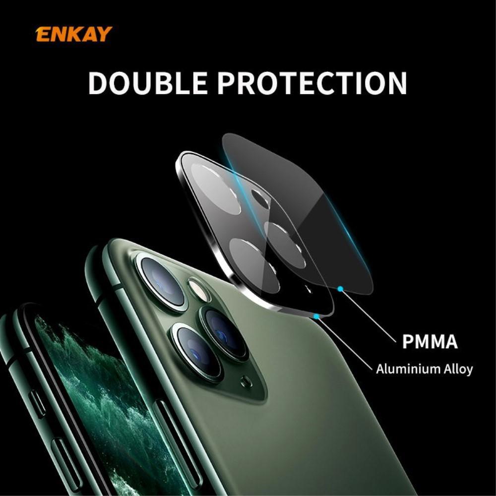 Kameraskydd Aluminium+Glas iPhone 11 svart