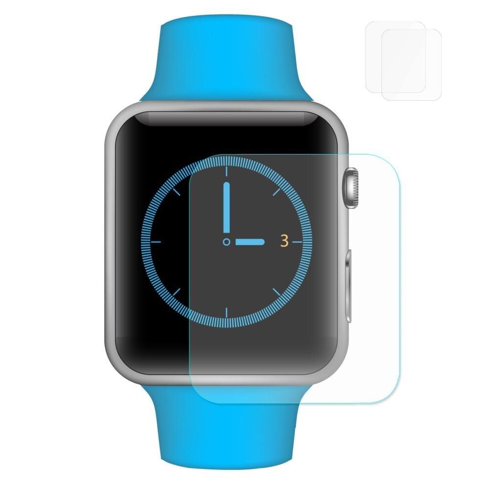 2-pack 0.2mm Härdat Glas Apple Watch 38mm