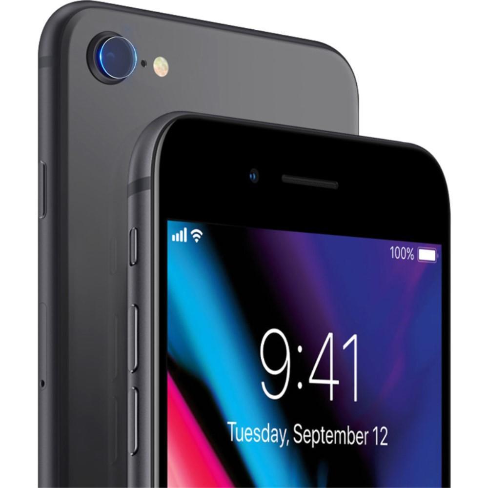 2-pack Härdat Glas Linsskydd iPhone 7/8/SE 2020