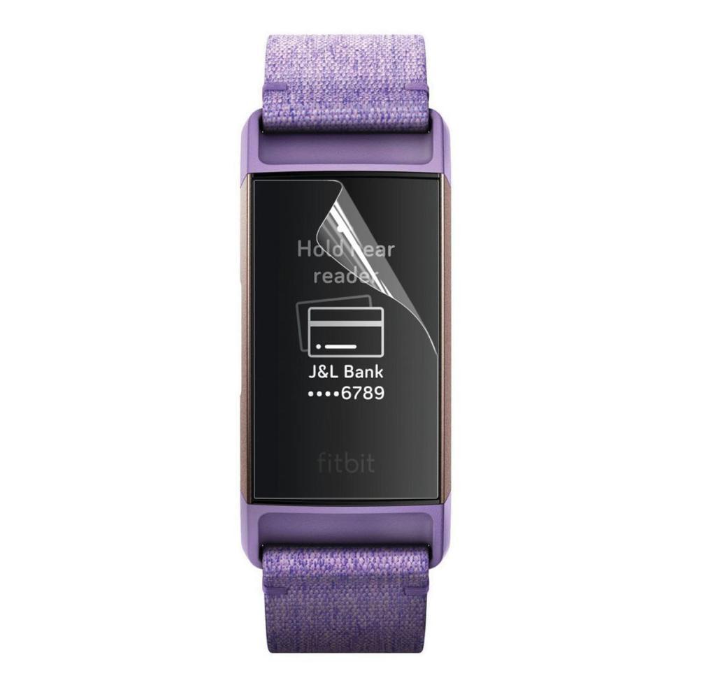 2-pack Skärmskydd Fitbit Charge 3/4