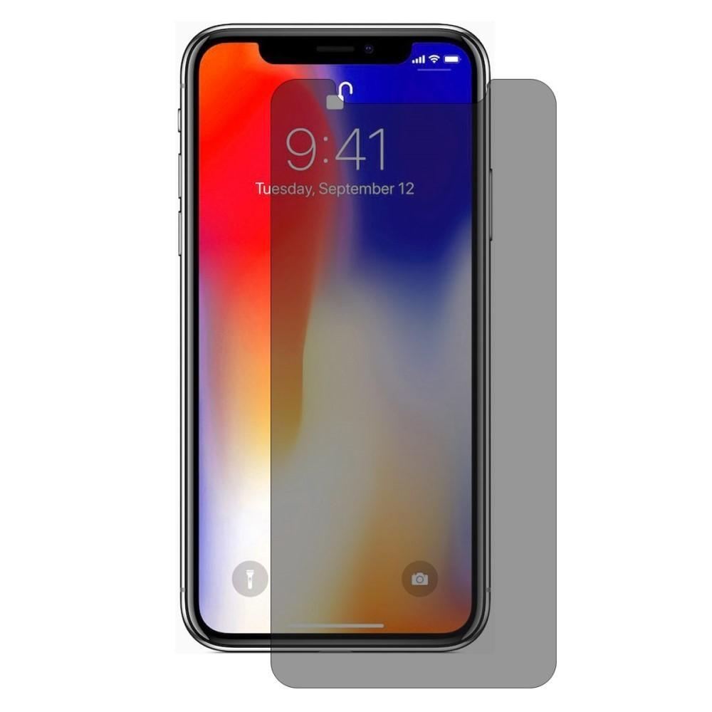 Privacy Härdat Glas Skärmskydd iPhone X/XS