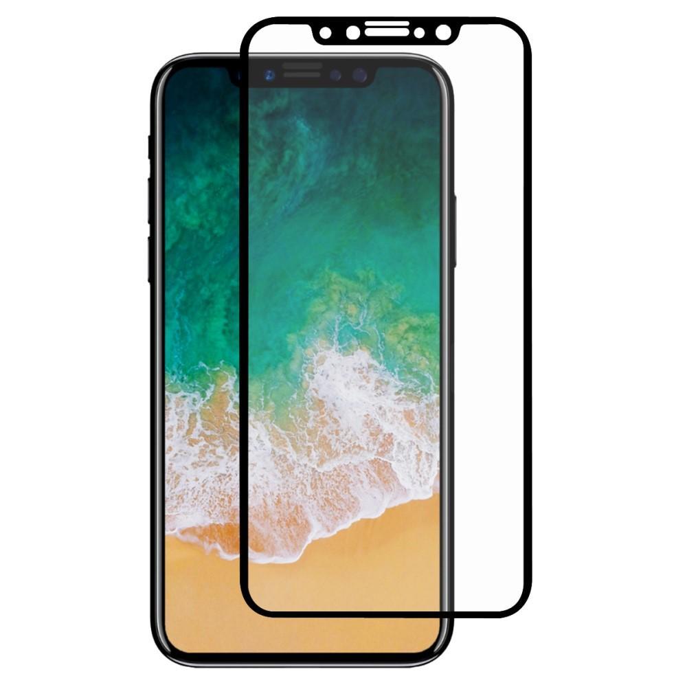 Full Glue Tempered Glass iPhone X/XS/11 Pro Black