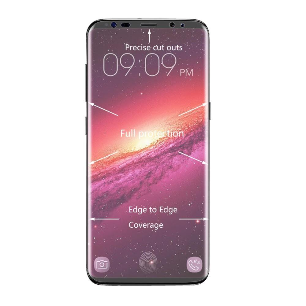 Heltäckande Curved Skärmskydd Samsung Galaxy S9