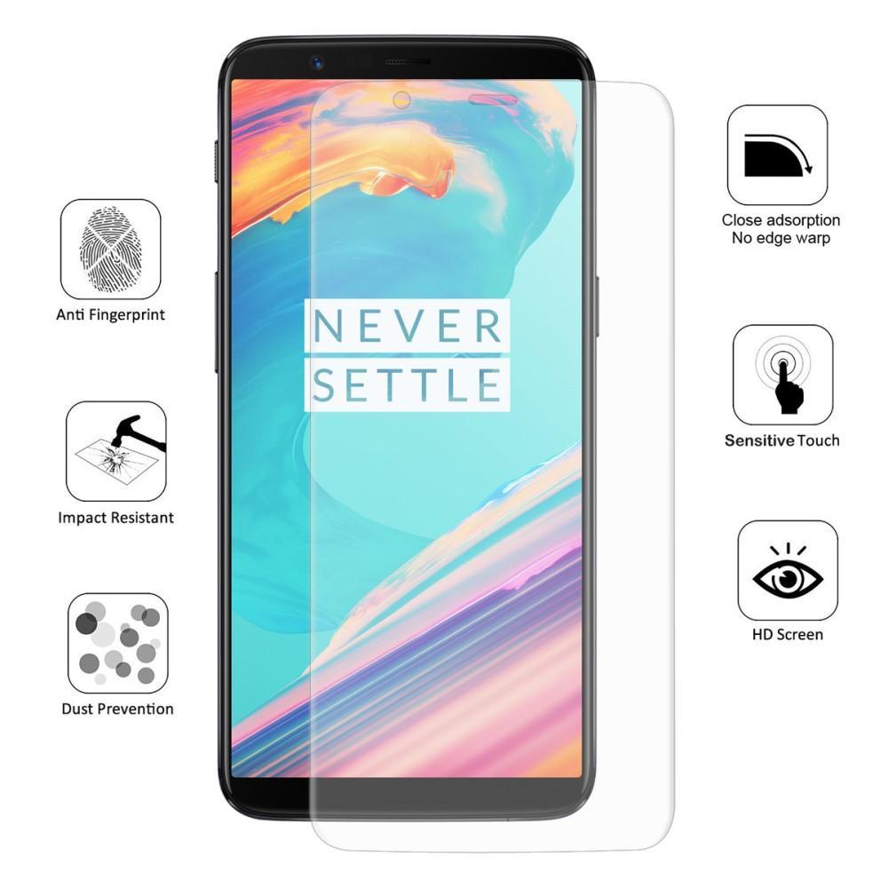 Heltäckande Skärmskydd OnePlus 5T