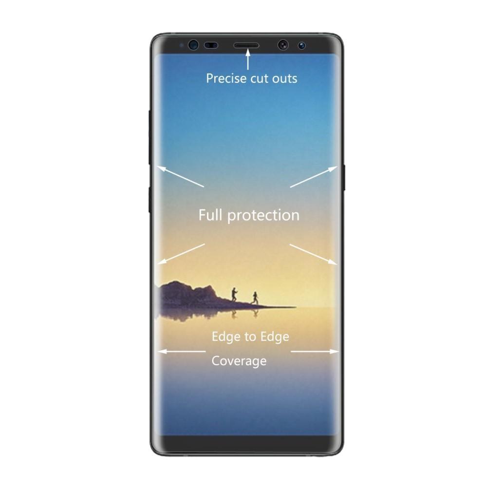 Heltäckande Curved Skärmskydd Samsung Galaxy Note 8