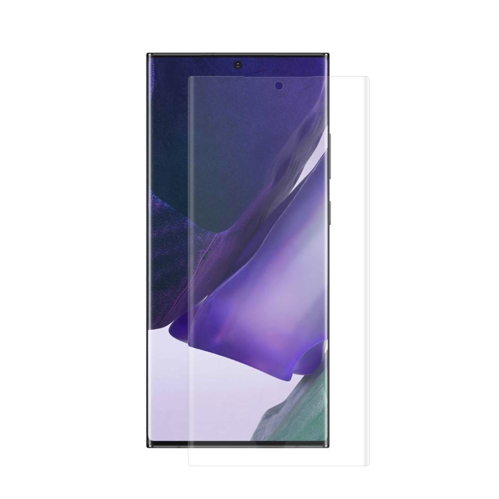 Heltäckande Curved Skärmskydd Galaxy Note 20 Ultra