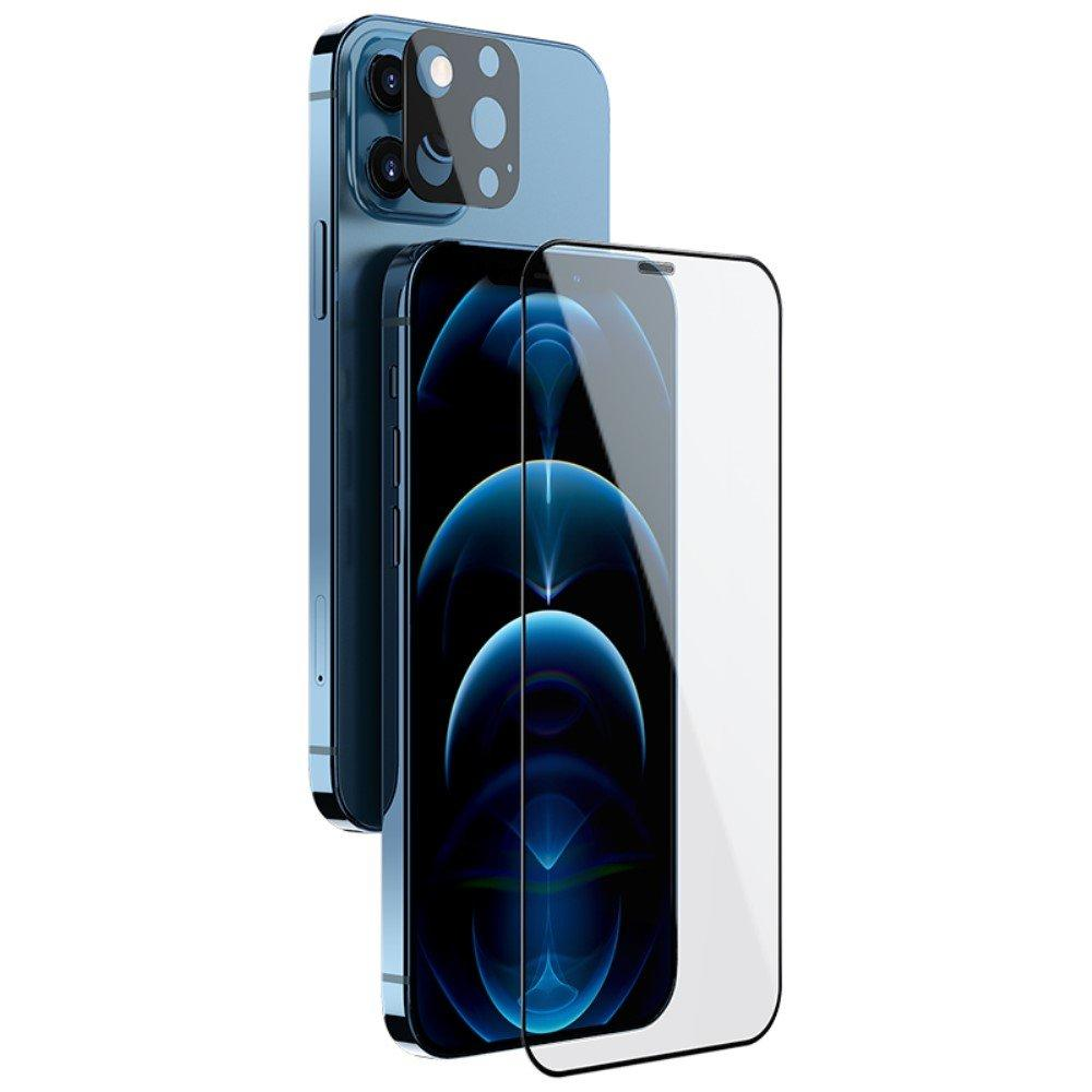 2-in-1 Skärmskydd & Linsskydd iPhone 12 Pro