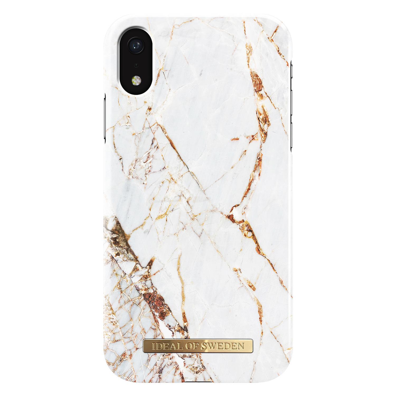 Fashion Case iPhone XR Carrara Gold Marble