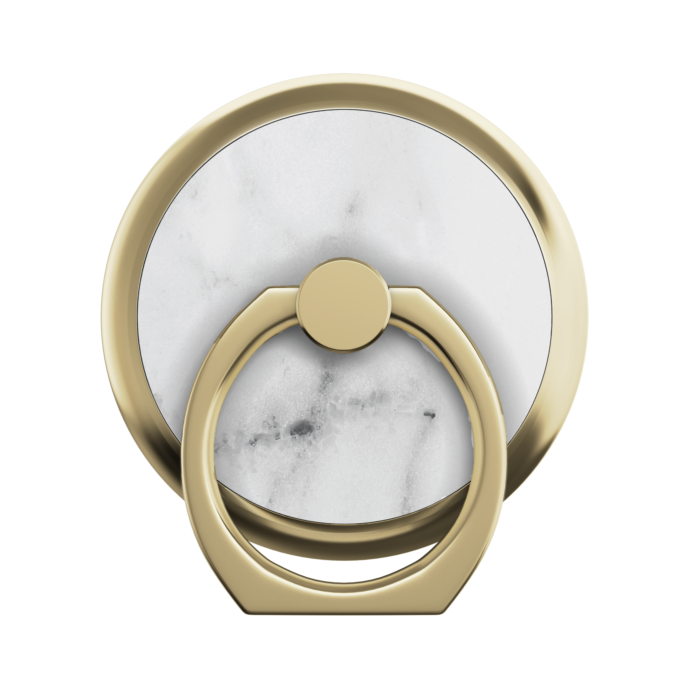 Magnetic Ring Mount White Marble