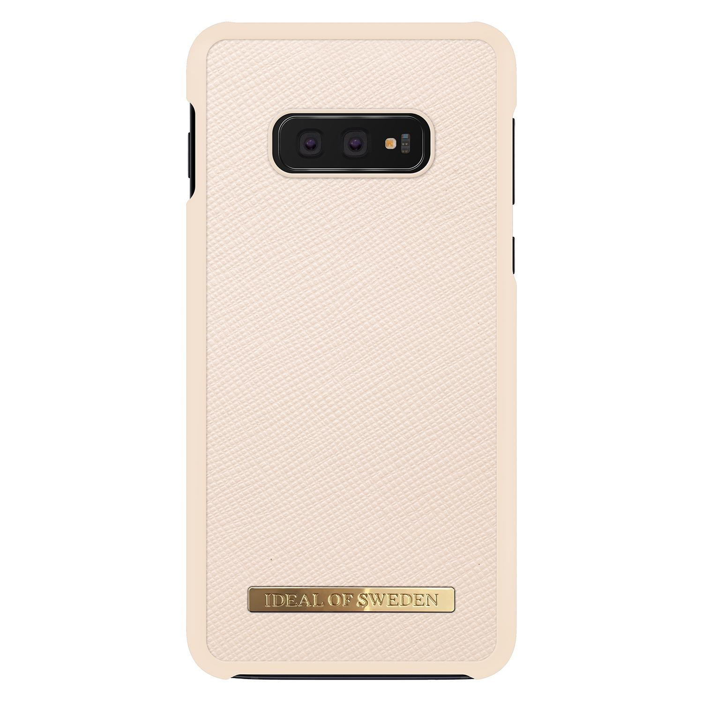 Saffiano Case Galaxy S10e Beige