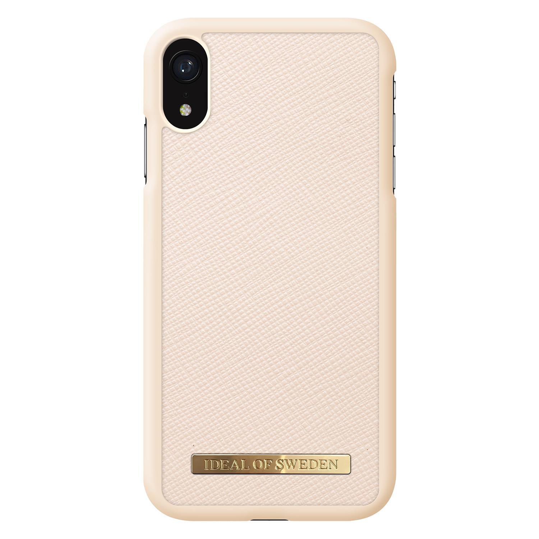 Saffiano Case iPhone XR Beige