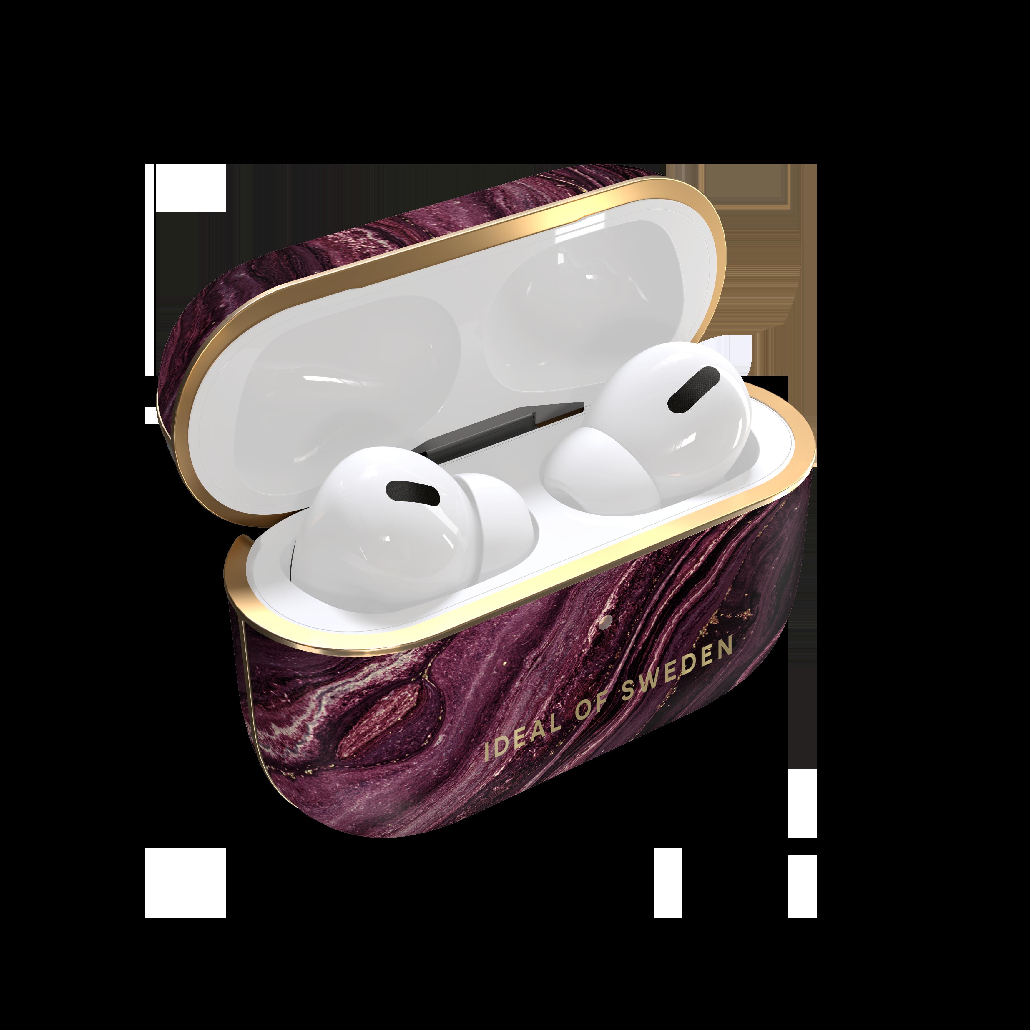 Fashion Case Apple AirPods Pro Golden Plum
