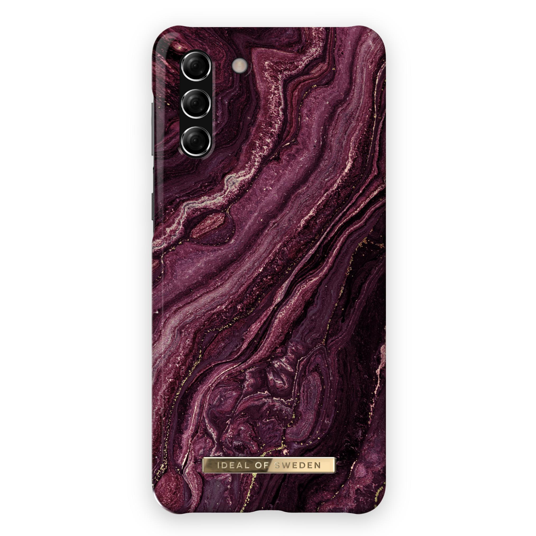 Fashion Case Galaxy S21 Golden Plum