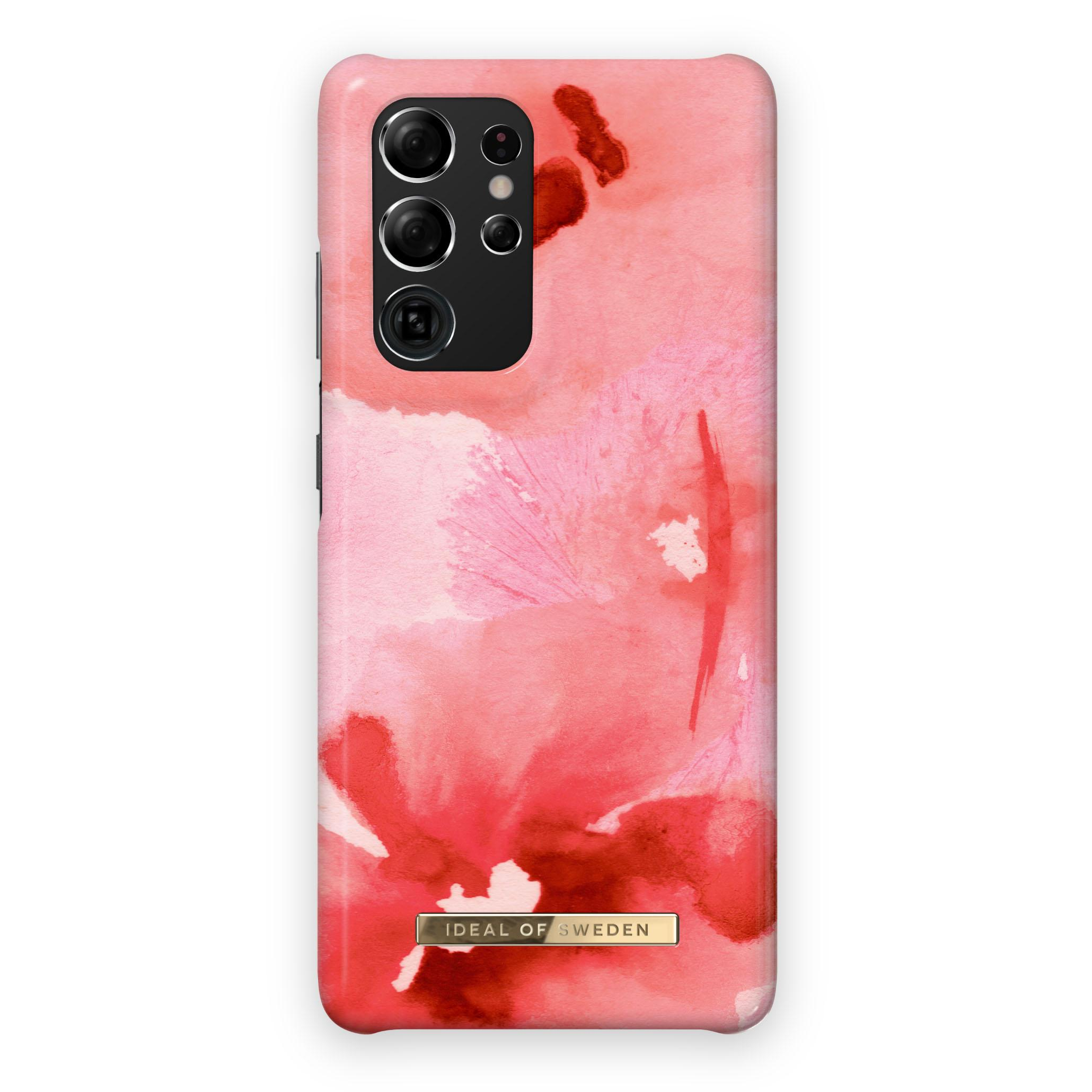 Fashion Case Galaxy S21 Ultra Coral Blush Floral
