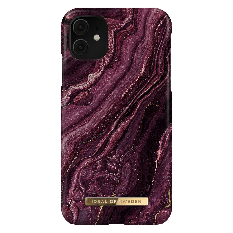 Fashion Case iPhone 11/XR Golden Plum