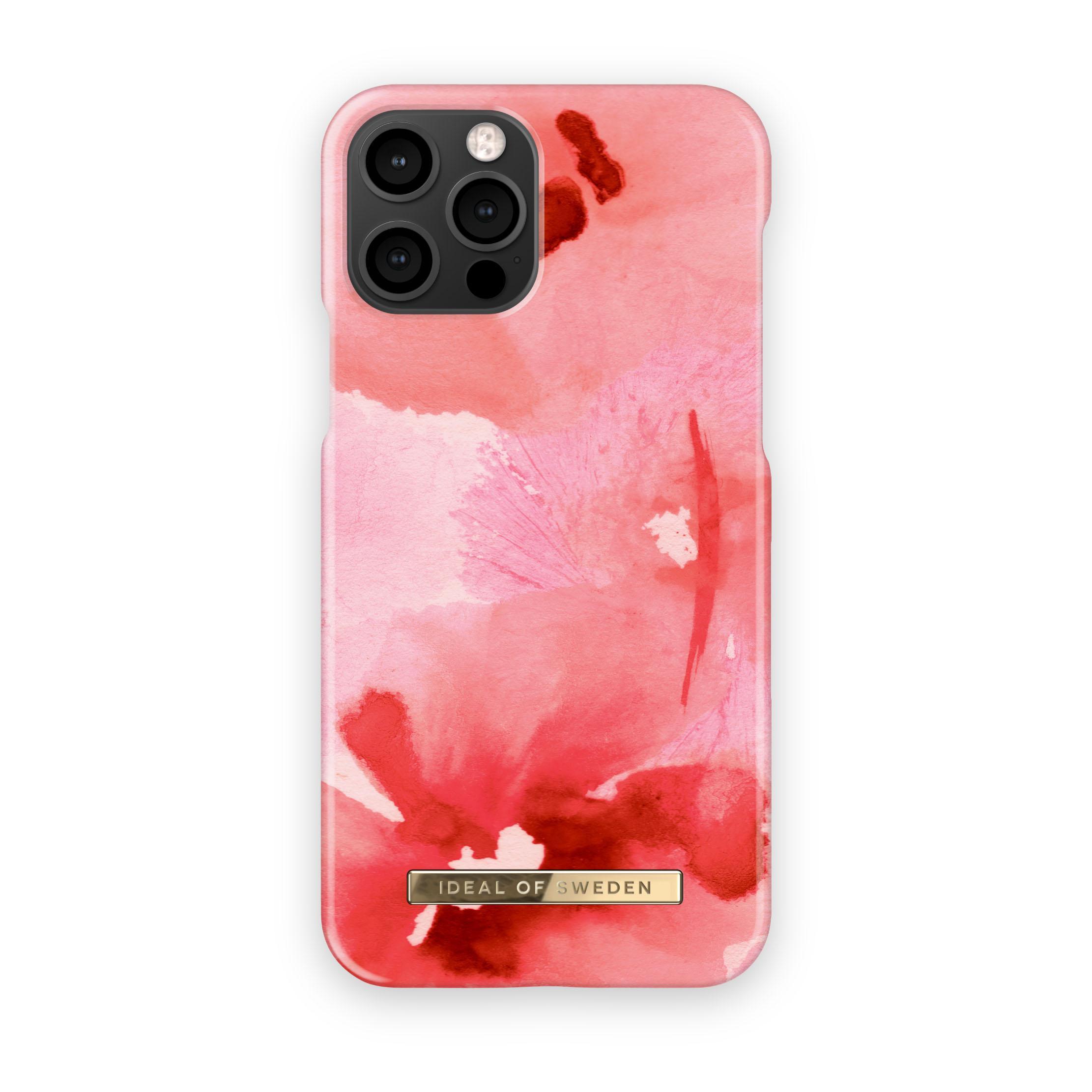 Fashion Case iPhone 12/12 Pro Coral Blush Floral