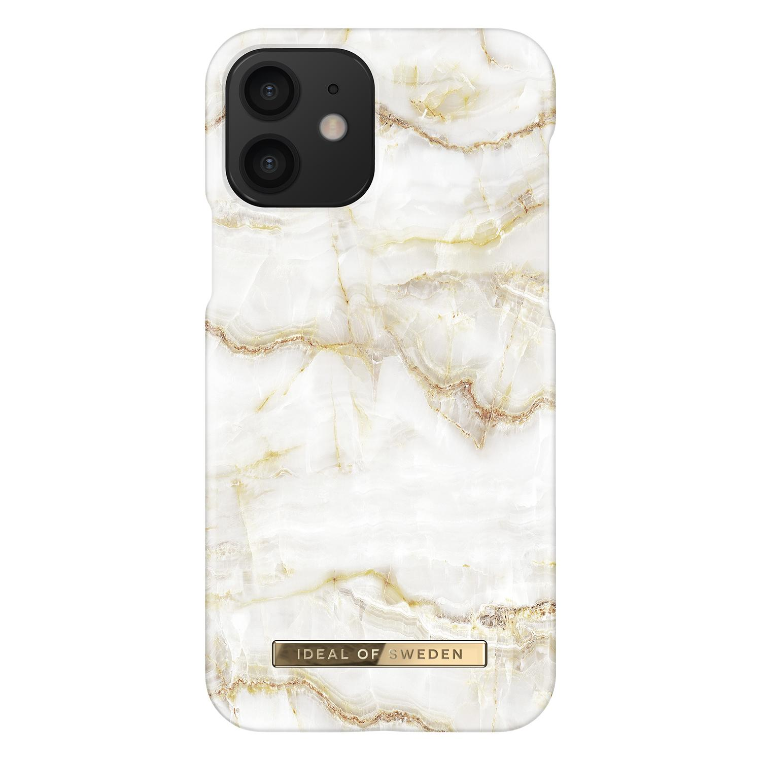 Fashion Case iPhone 12/12 Pro Golden Pearl Marble