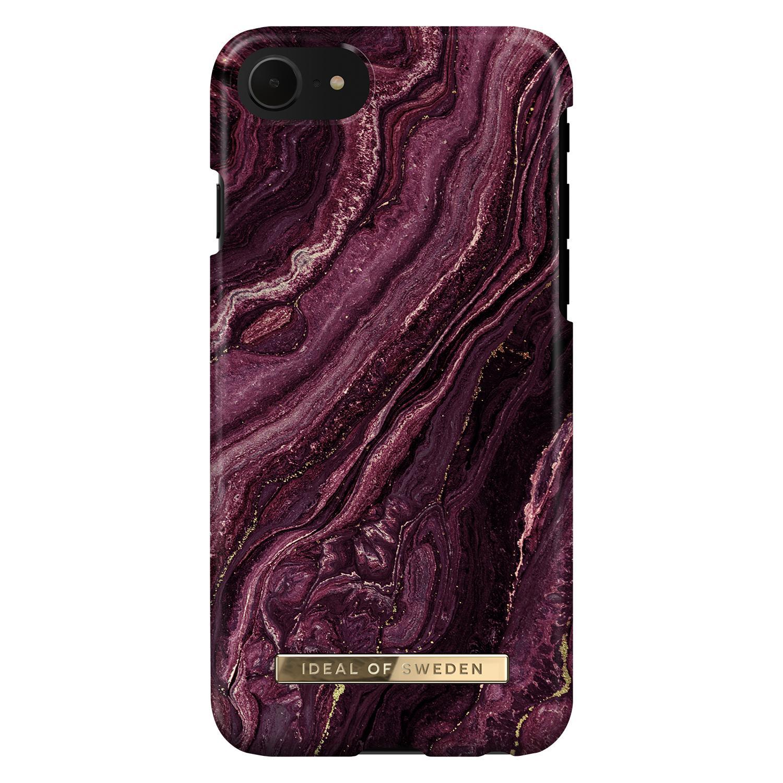 Fashion Case iPhone 6/6S/7/8/SE 2020 Golden Plum