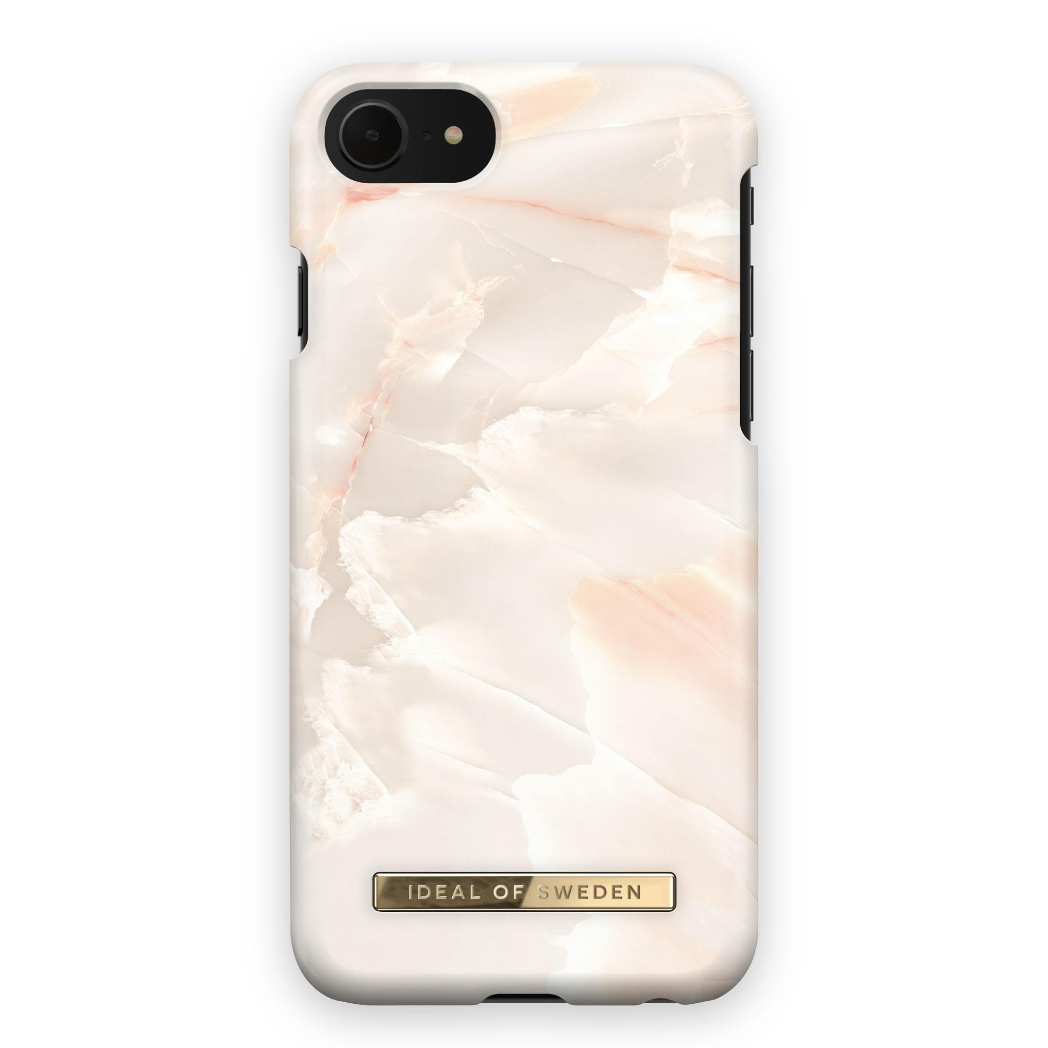 Fashion Case iPhone 6/6S/7/8/SE 2020 Rose Pearl Marble