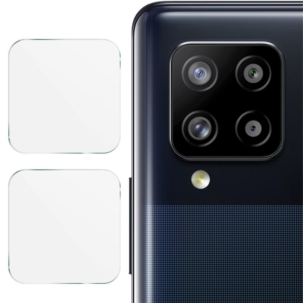 2-pack Härdat Glas Linsskydd Galaxy A12/A42 5G