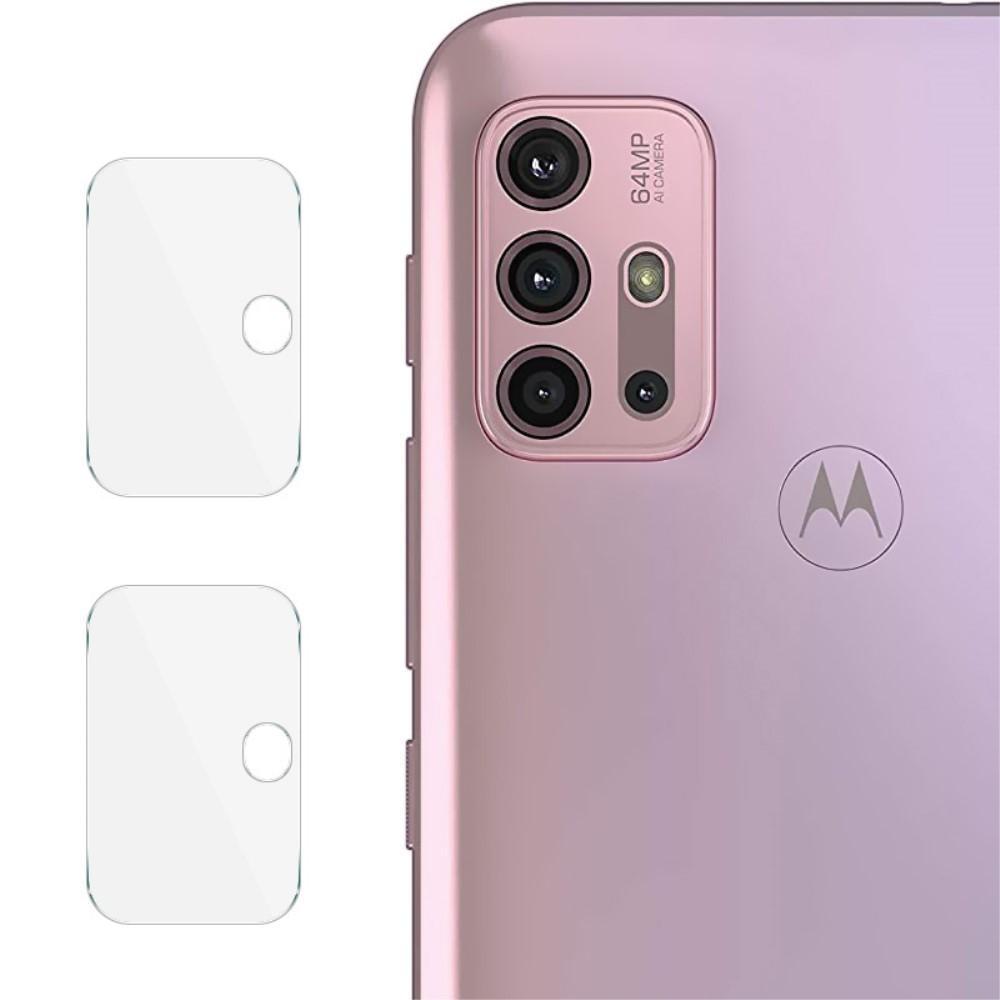 2-pack Härdat Glas Linsskydd Motorola Moto G10/G20/G30